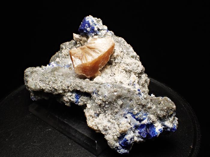 アフガニスタン産ラズライト、フロゴパイト&パイライト (Lazurite, Phlogopite & Pyrite / Afghanistan)-photo1
