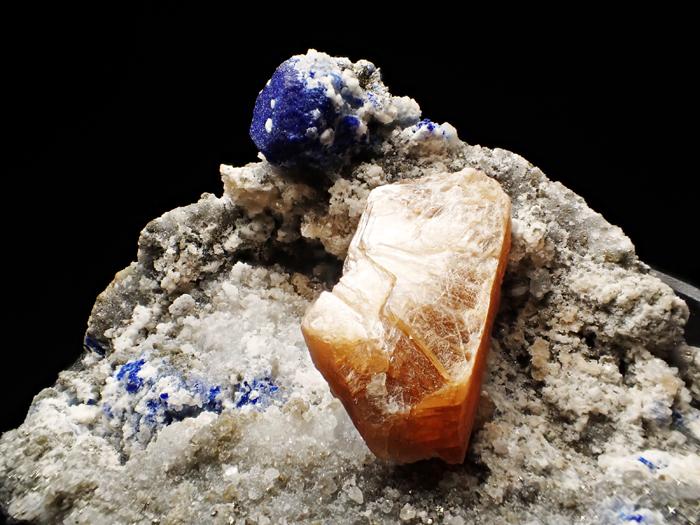 アフガニスタン産ラズライト、フロゴパイト&パイライト (Lazurite, Phlogopite & Pyrite / Afghanistan)-photo10