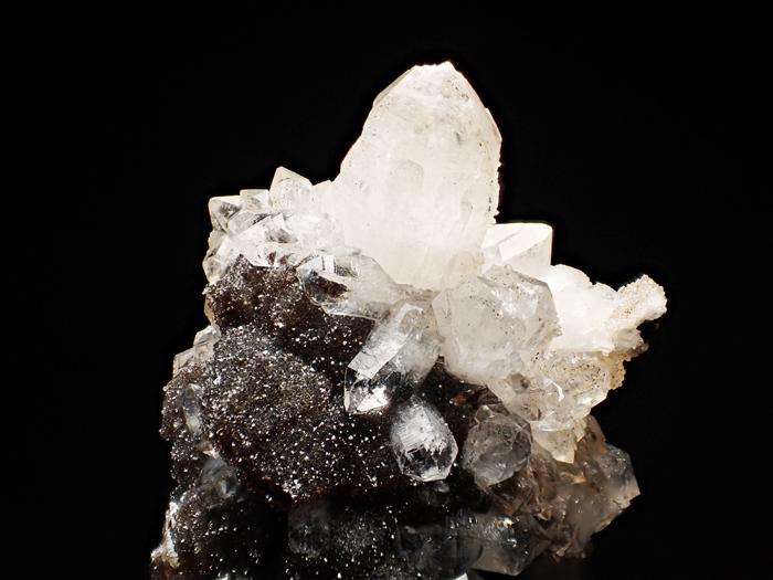 ホンジュラス産クォーツ、アンドラダイト&スファレライト (Quartz, Andradite & Sphalerite / Honduras)-photo10