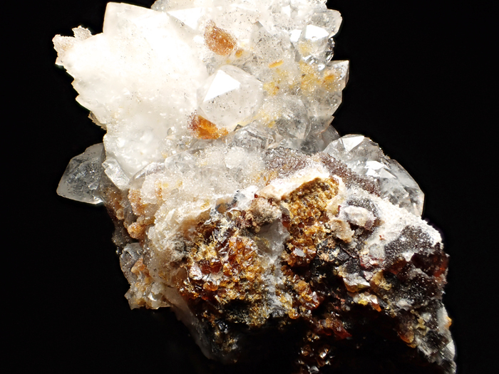 ホンジュラス産クォーツ、アンドラダイト&スファレライト (Quartz, Andradite & Sphalerite / Honduras)-photo22