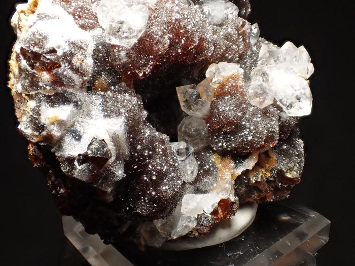 ホンジュラス産クォーツ、アンドラダイト&スファレライト (Quartz, Andradite & Sphalerite / Honduras)-photo29