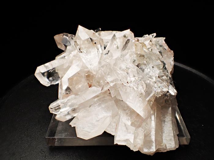 アイルランド産クォーツ、クリノクロア&ヘマタイト (Quartz, Clinochlore & Hematite / Ireland)-photo2