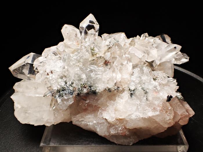 アイルランド産クォーツ、クリノクロア&ヘマタイト (Quartz, Clinochlore & Hematite / Ireland)-photo4