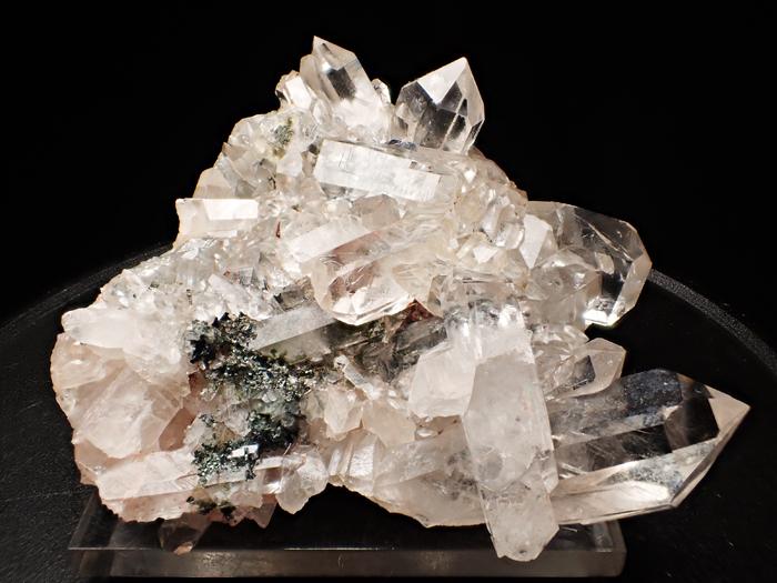 アイルランド産クォーツ、クリノクロア&ヘマタイト (Quartz, Clinochlore & Hematite / Ireland)-photo6