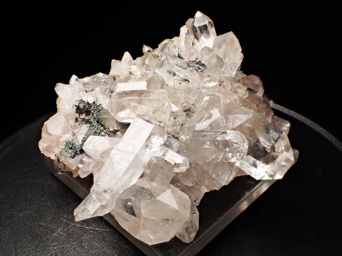 アイルランド産クォーツ、クリノクロア&ヘマタイト (Quartz, Clinochlore & Hematite / Ireland)-photo7