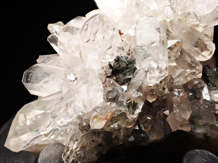 アイルランド産クォーツ、クリノクロア&ヘマタイト (Quartz, Clinochlore & Hematite / Ireland)-photo12