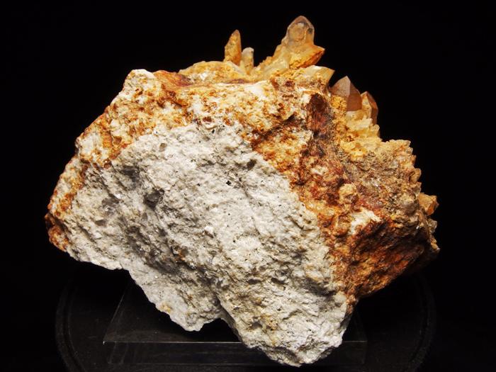 岐阜県荘川町産 松茸水晶&黄鉄鉱 (Scepter Quartz & Pyrite/ Japan)-photo3