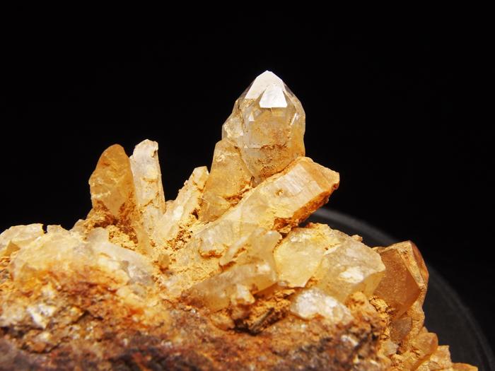 岐阜県荘川町産 松茸水晶&黄鉄鉱 (Scepter Quartz & Pyrite/ Japan)-photo16