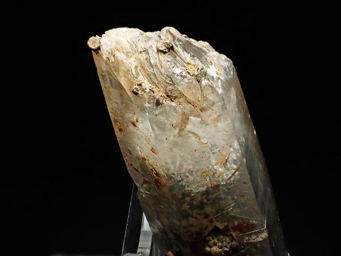大分県尾平鉱山産 水晶、クーク石&透閃石 <まりも水晶> (Quartz, Cookeite & Tremolite / Japan)-photo7