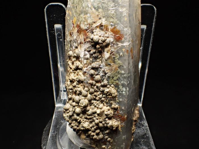 大分県尾平鉱山産 水晶、クーク石&透閃石 <まりも水晶> (Quartz, Cookeite & Tremolite / Japan)-photo13