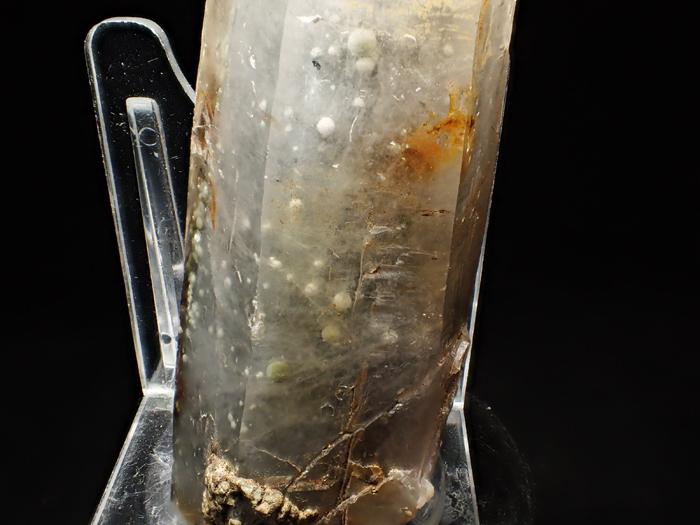 大分県尾平鉱山産 水晶、クーク石&透閃石 <まりも水晶> (Quartz, Cookeite & Tremolite / Japan)-photo15