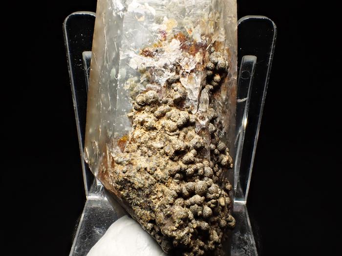 大分県尾平鉱山産 水晶、クーク石&透閃石 <まりも水晶> (Quartz, Cookeite & Tremolite / Japan)-photo17