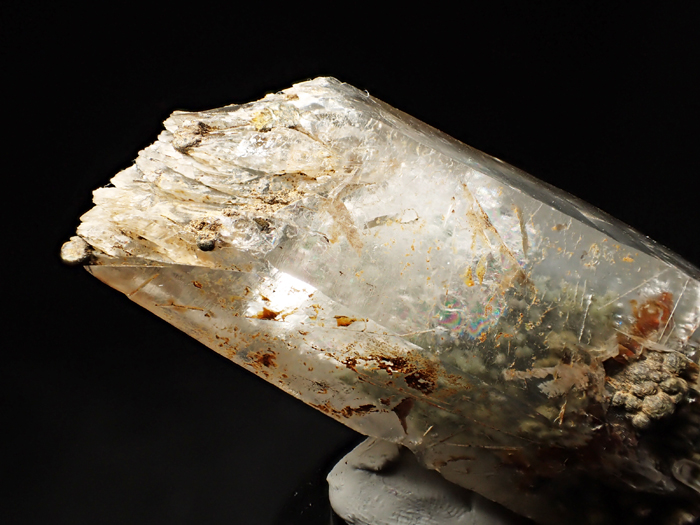 大分県尾平鉱山産 水晶、クーク石&透閃石 <まりも水晶> (Quartz, Cookeite & Tremolite / Japan)-photo23