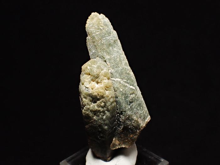 岐阜県柿野鉱山産 水晶&緑閃石 (Quartz & Actinolite / Japan)-photo5