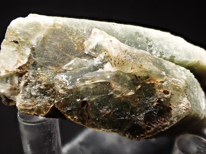 岐阜県柿野鉱山産 水晶&緑閃石 (Quartz & Actinolite / Japan)-photo19