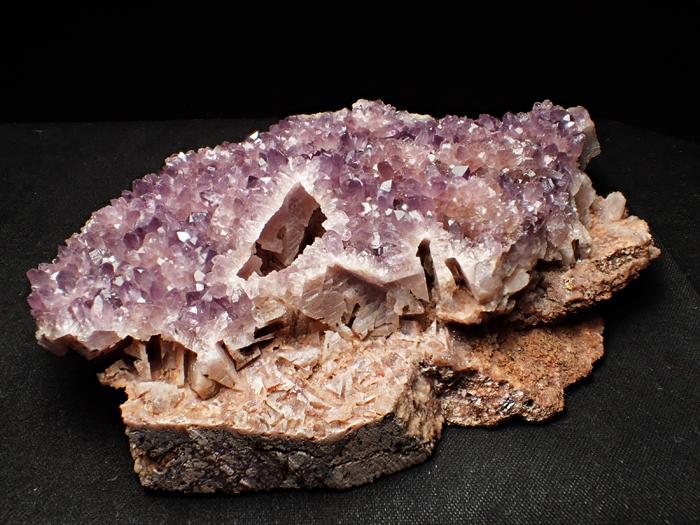 トルコ産アメジスト <バライト仮晶> (Amethyst Pseudomorph after Baryte / Turkey)-photo8