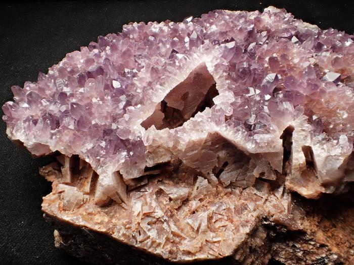トルコ産アメジスト <バライト仮晶> (Amethyst Pseudomorph after Baryte / Turkey)-photo10