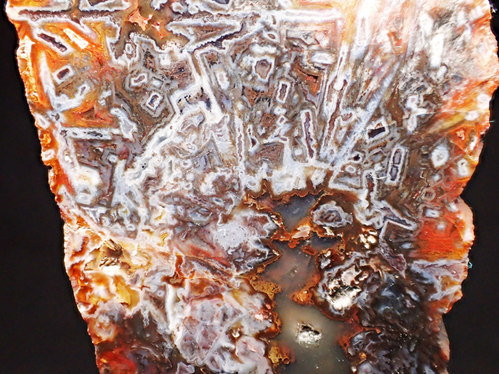 トルコ産アゲート <バライト仮晶> (Agate Pseudomorph after Baryte / Turkey)-photo3