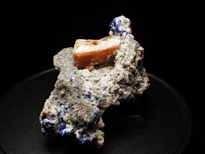 アフガニスタン産ラズライト、フロゴパイト&パイライト (Lazurite, Phlogopite & Pyrite / Afghanistan)-photo2