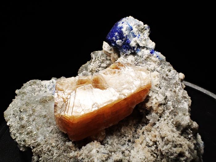 アフガニスタン産ラズライト、フロゴパイト&パイライト (Lazurite, Phlogopite & Pyrite / Afghanistan)-photo11