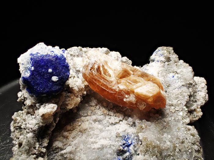アフガニスタン産ラズライト、フロゴパイト&パイライト (Lazurite, Phlogopite & Pyrite / Afghanistan)-photo14