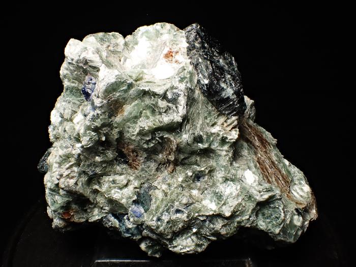アフガニスタン産ドラバイト−ウバイト&サファイア (Dravite-Uvite & Sapphire / Afghanistan)-photo4