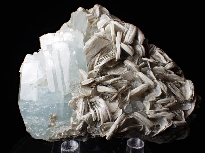 パキスタン産アクアマリン&モスコバイト (Aquamarine & Muscovite / Pakistan)-photo0