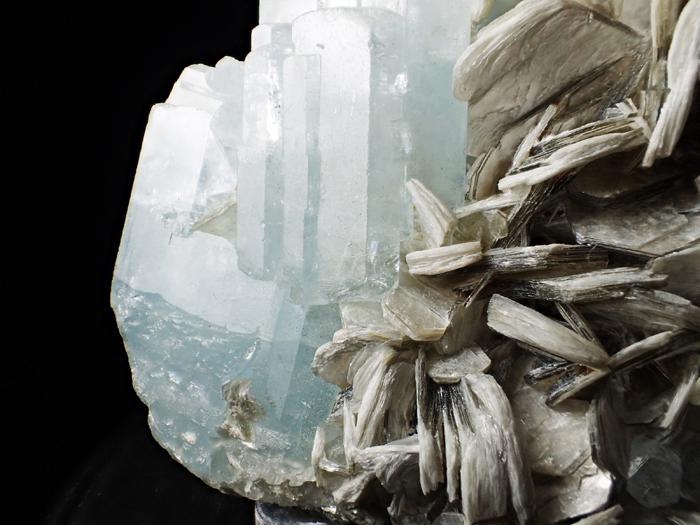 パキスタン産アクアマリン&モスコバイト (Aquamarine & Muscovite / Pakistan)-photo14
