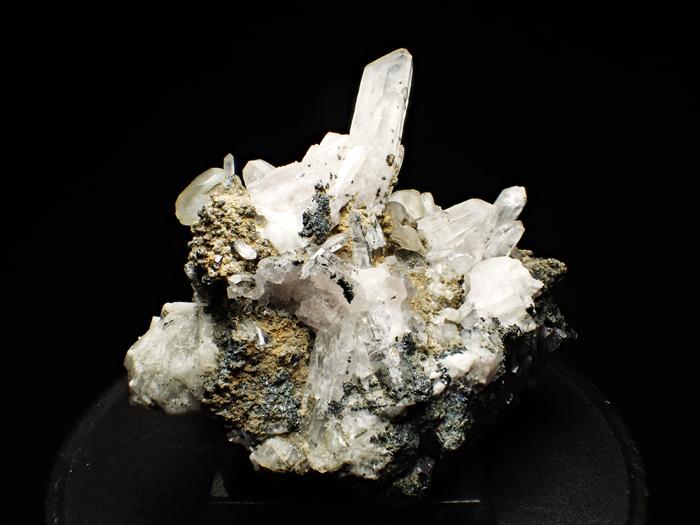 アゼルバイジャン産クローアパタイト、クォーツ、カルサイト&マグネタイト (Chlorapatite, Quartz, Calcite & Magnetite / Azerbaijan)-photo2