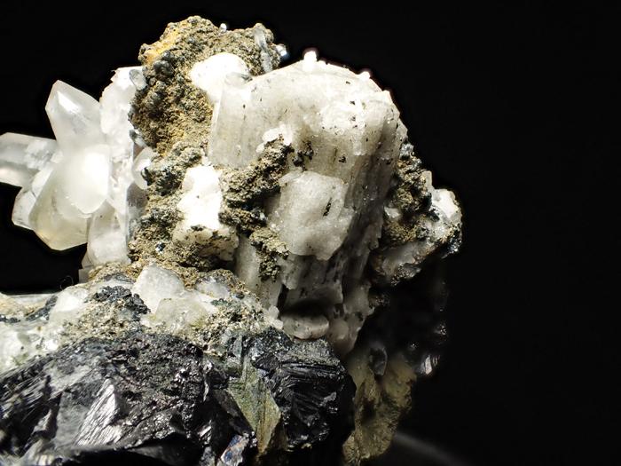 アゼルバイジャン産クローアパタイト、クォーツ、カルサイト&マグネタイト (Chlorapatite, Quartz, Calcite & Magnetite / Azerbaijan)-photo24