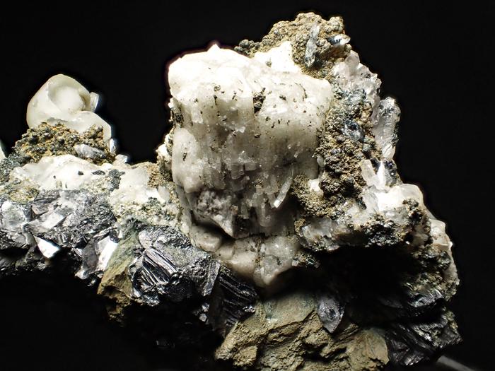 アゼルバイジャン産クローアパタイト、クォーツ、カルサイト&マグネタイト (Chlorapatite, Quartz, Calcite & Magnetite / Azerbaijan)-photo25