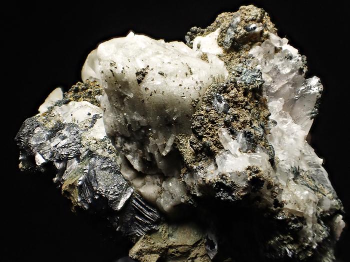 アゼルバイジャン産クローアパタイト、クォーツ、カルサイト&マグネタイト (Chlorapatite, Quartz, Calcite & Magnetite / Azerbaijan)-photo26