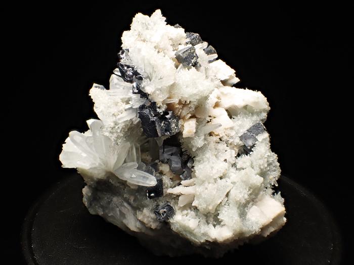 ブルガリア産クォーツ、ガレーナ&カルサイト (Quartz, Galena & Calcite / Bulgaria)-photo2