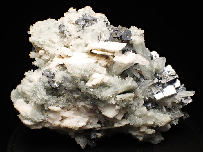 ブルガリア産クォーツ、ガレーナ&カルサイト (Quartz, Galena & Calcite / Bulgaria)-photo4