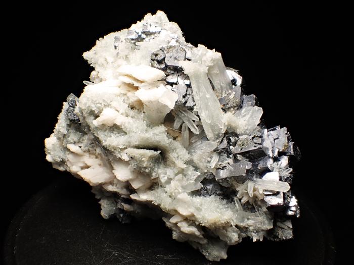 ブルガリア産クォーツ、ガレーナ&カルサイト (Quartz, Galena & Calcite / Bulgaria)-photo5