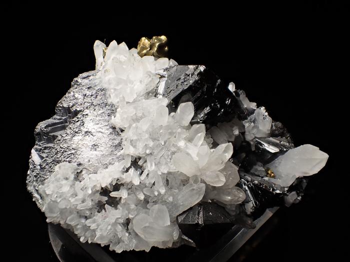 ブルガリア産クォーツ、スファレライト&ガレーナ(Quartz, Sphalerite & Galena / Bulgaria)-photo5