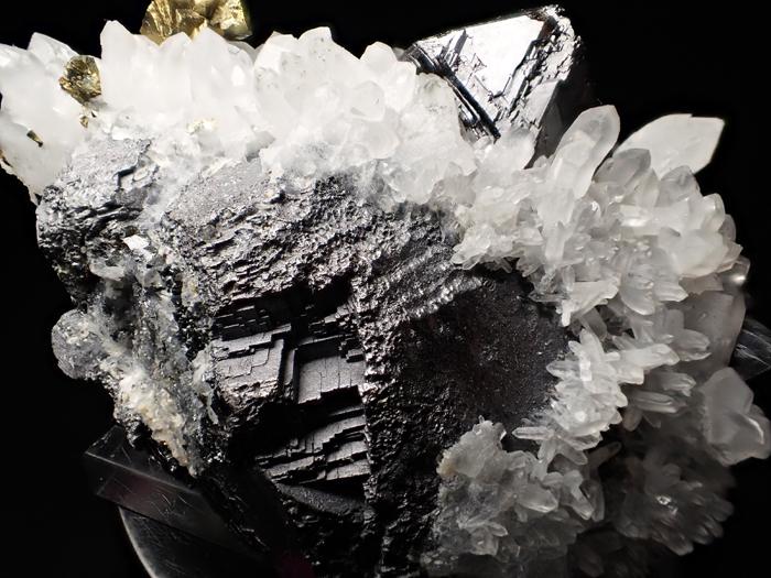 ブルガリア産クォーツ、スファレライト&ガレーナ(Quartz, Sphalerite & Galena / Bulgaria)-photo11