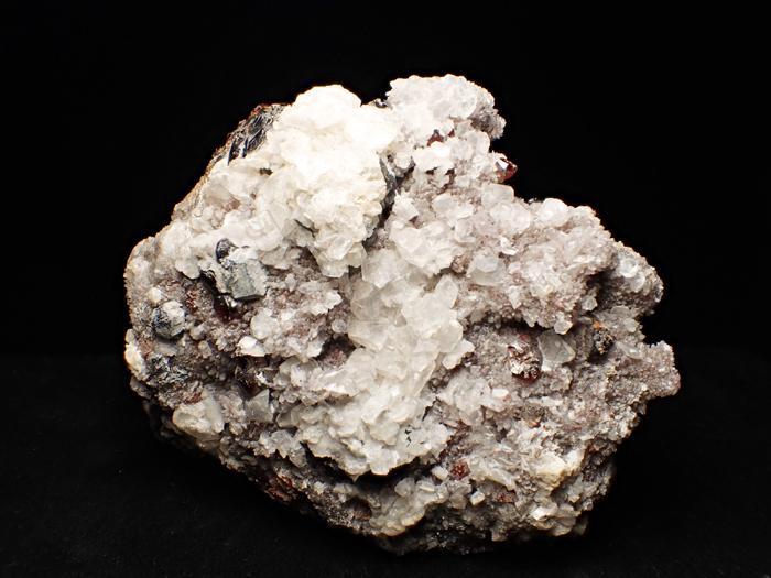 中国産スファレライト、クォーツ&カルサイト (Sphalerite, Quartz & Calcite / China)-photo5