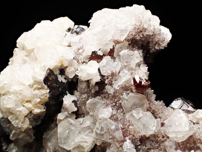 中国産スファレライト、クォーツ&カルサイト (Sphalerite, Quartz & Calcite / China)-photo20