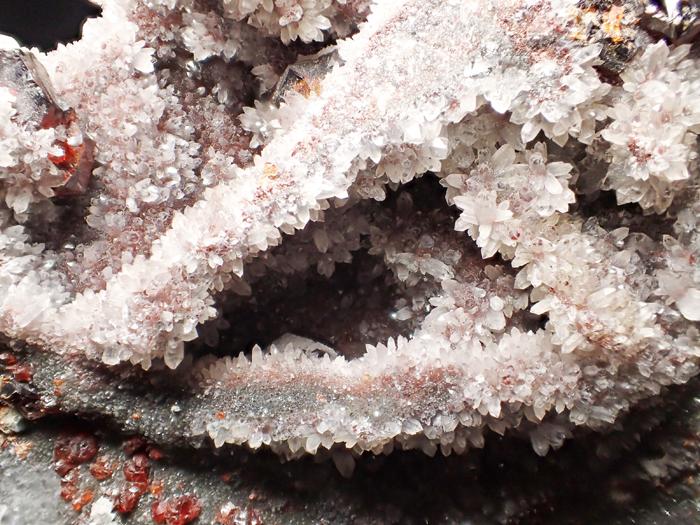 中国産スファレライト、クォーツ&カルサイト (Sphalerite, Quartz & Calcite / China)-photo24