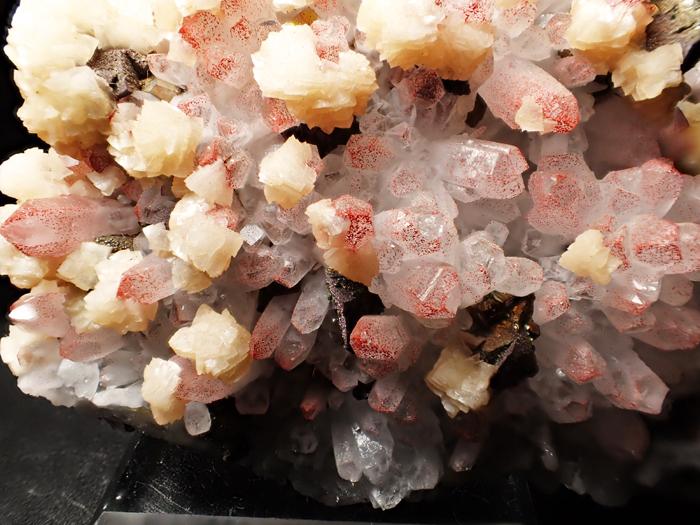 中国産ヘマタイトクォーツ、ドロマイト&キャルコパイライト (Hematite Quartz, Dolomite & Chalcopyrite / China)-photo12