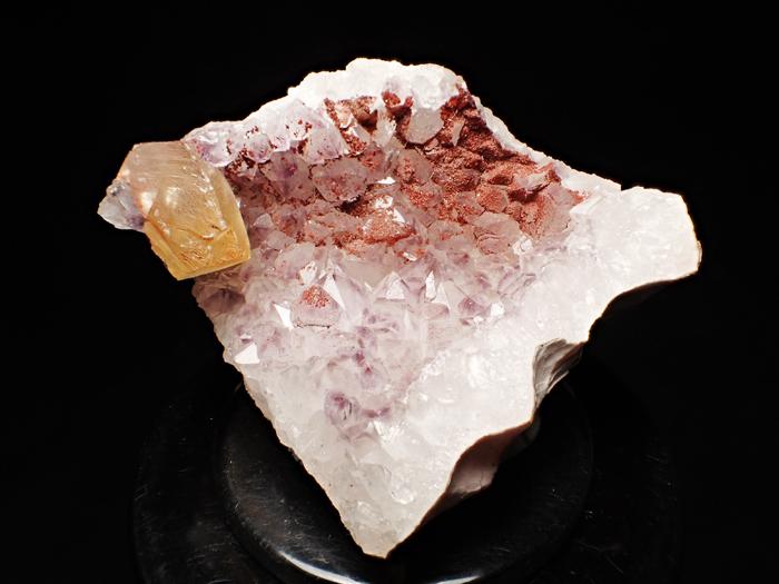 ドイツ産アメジスト、ヘマタイト&カルサイト (Amethyst, Hematite & Calcite / Germany)-photo0