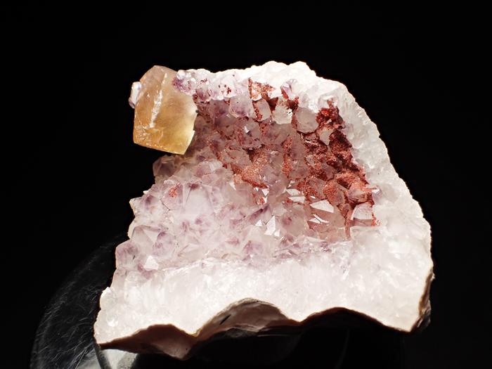 ドイツ産アメジスト、ヘマタイト&カルサイト (Amethyst, Hematite & Calcite / Germany)-photo1