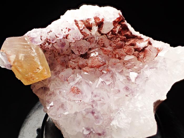 ドイツ産アメジスト、ヘマタイト&カルサイト (Amethyst, Hematite & Calcite / Germany)-photo6
