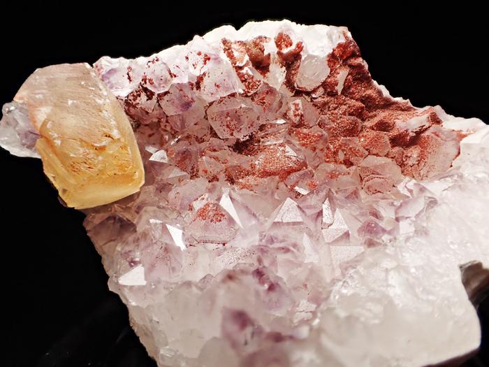 ドイツ産アメジスト、ヘマタイト&カルサイト (Amethyst, Hematite & Calcite / Germany)-photo7