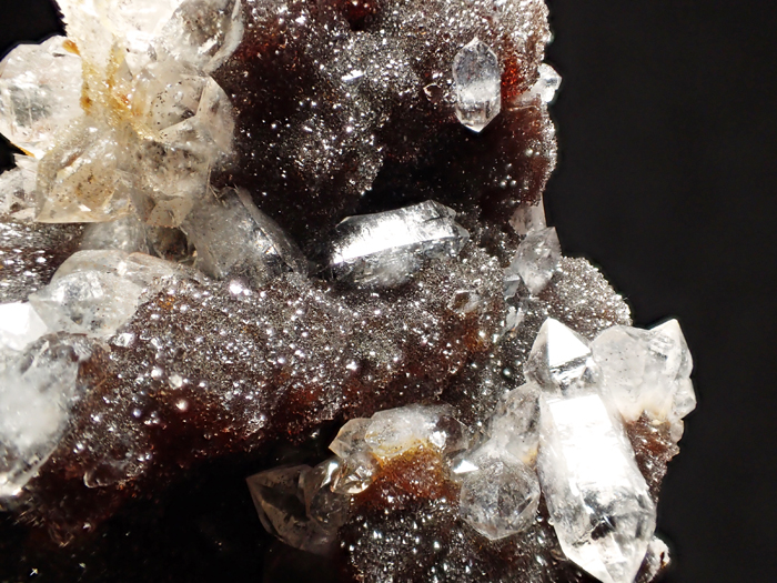 ホンジュラス産クォーツ、アンドラダイト&スファレライト (Quartz, Andradite & Sphalerite / Honduras)-photo34