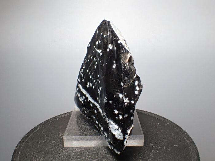 長野県和田峠産 黒曜石 (Obsidian / Japan)-photo2