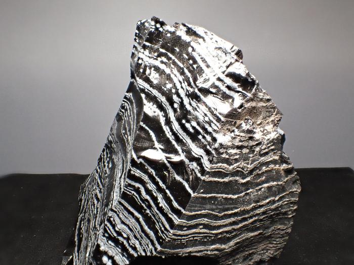 長野県和田峠産 黒曜石 (Obsidian / Japan)-photo9