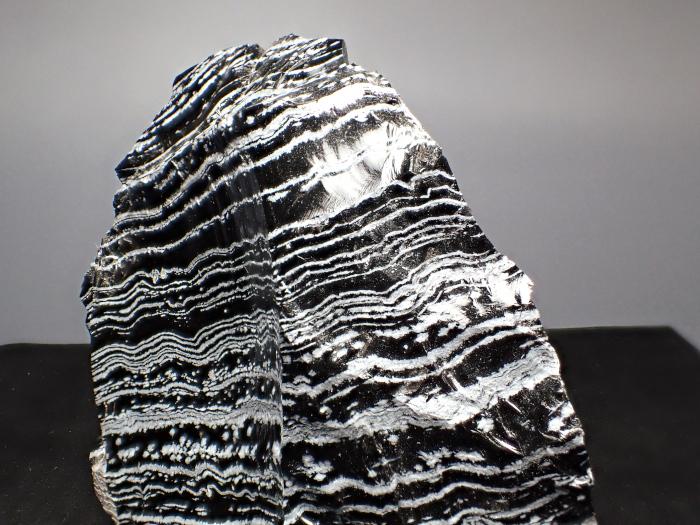 長野県和田峠産 黒曜石 (Obsidian / Japan)-photo11