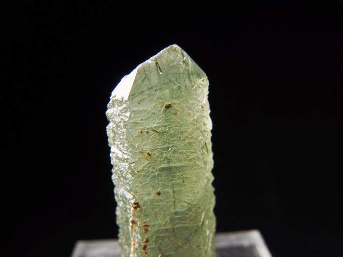 岐阜県柿野鉱山産 水晶&緑閃石 (Quartz & Actinolite / Japan)-photo6